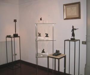 Omaggio a Mario Negri & Teste in libertà, Galleria Consadori 2005