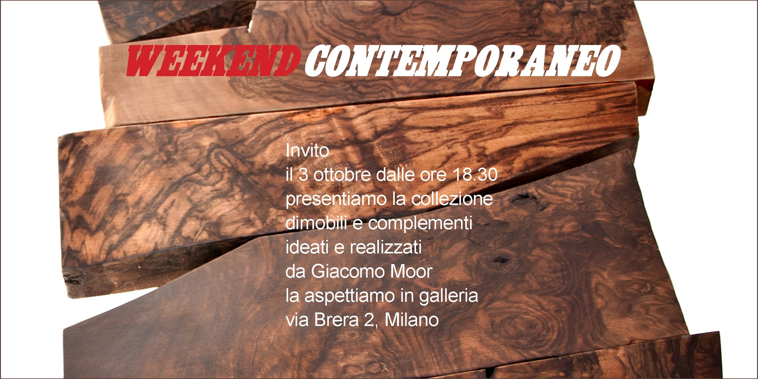 Weekend contemporaneo, Giacomo Moor | Galleria Consadori 2012
