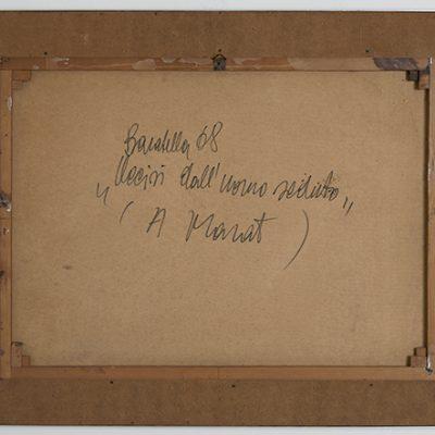 Baratella, Uccisi dall'uomo seduto (A Marat)