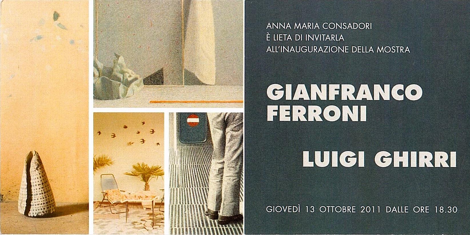 Ferroni Ghirri | Galleria Consadori 2011