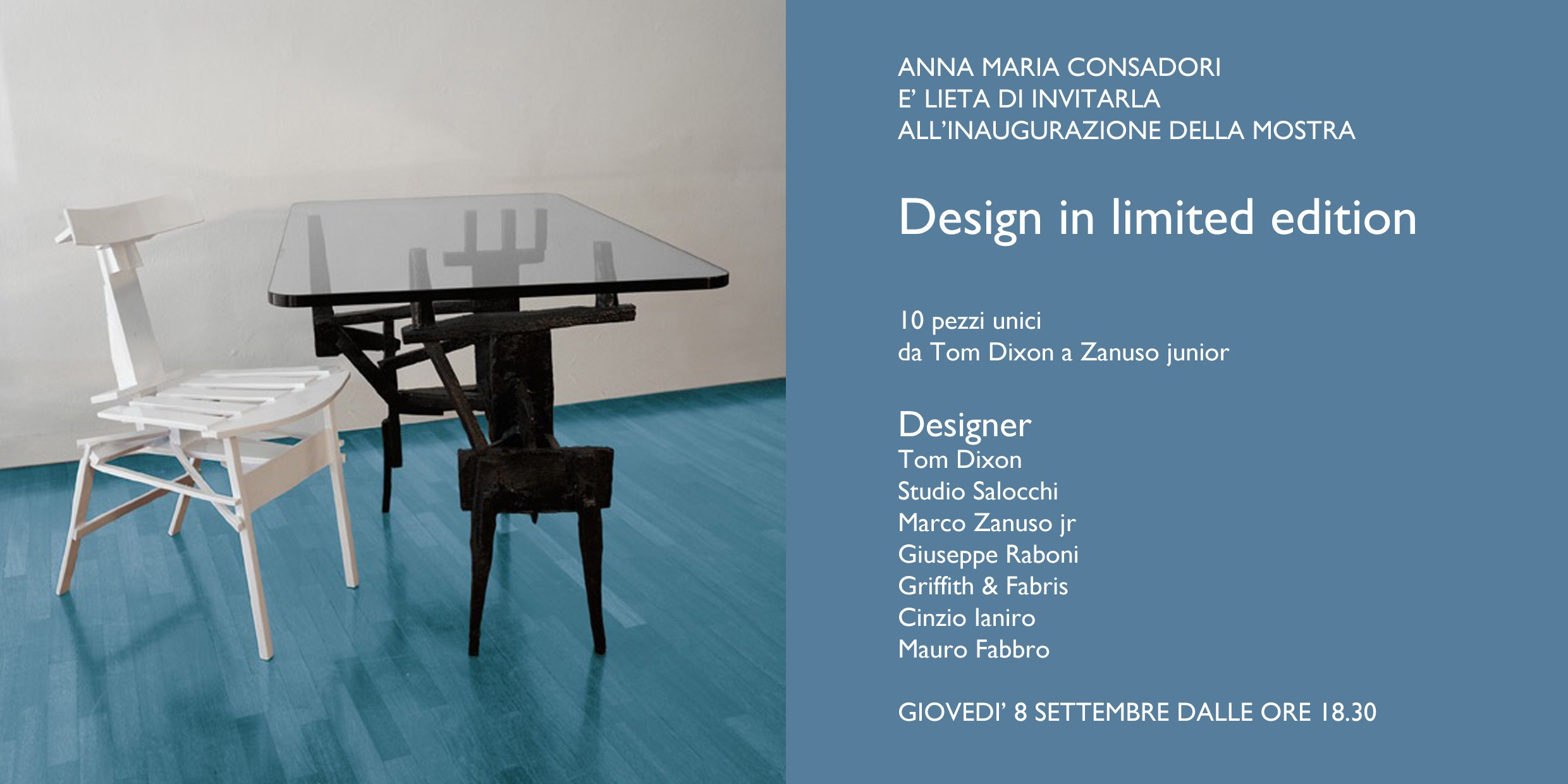 Design Limited Edition | Galleria Consadori 2011