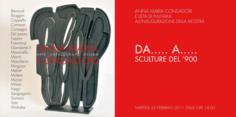 Da.....a..... | Galleria Consadori 2011