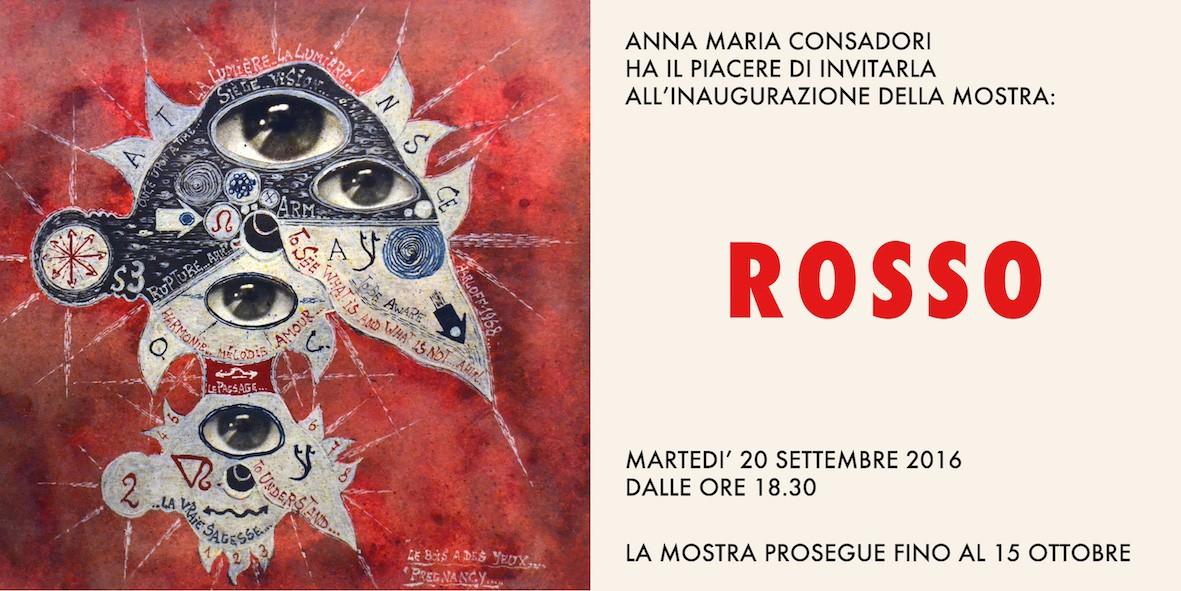 Rosso - Galleria Anna Maria Consadori