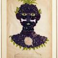 David Hicks, Study, 1963, Collage e tempera, 70×50 cm