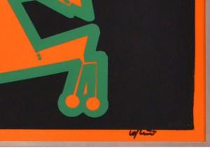 Renato Volpini, anni '60, acrilico su perspex