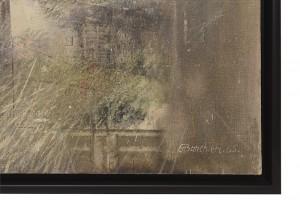 Giuseppe Banchieri, Il quadro nel cortile, 1965