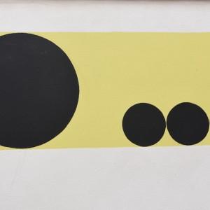 Jack Clemente, Senza titolo, 1965, cm 97x130 (dettaglio)