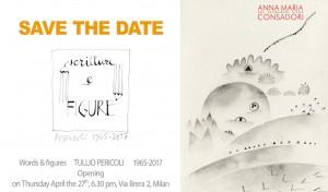 Save the date | Scritture e figure TULLIO PERICOLI 1965-2017