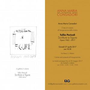 Tullio Pericoli | Scritture e figure | Galleria Consadori