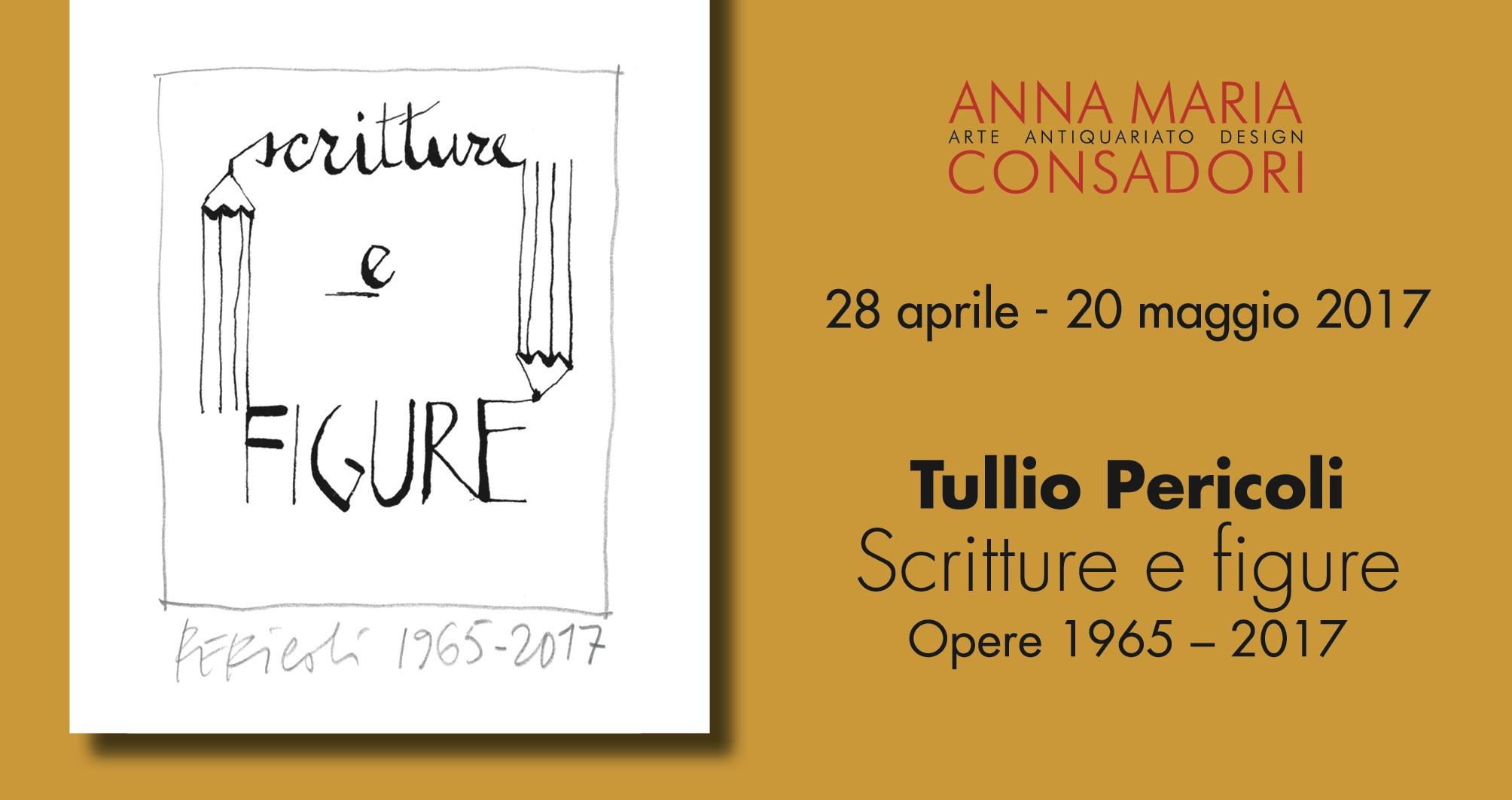 Scritture e figure. Tullio Pericoli: 1965-2017