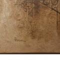 Tullio Pericoli, Senza titolo, 1965, cm 70×50, tecnica mista su tavola