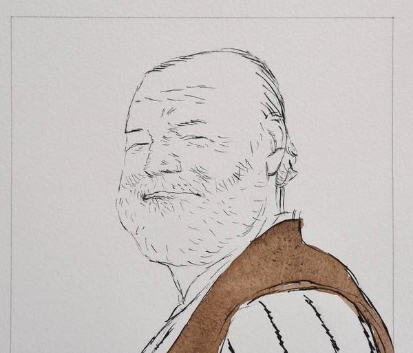 Tullio Pericoli, Hemingway, 2002