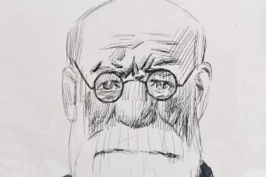 Tullio Pericoli, Freud, 2002